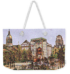 Atlanta Georgia Usa - Color Pencil Weekender Tote Bag