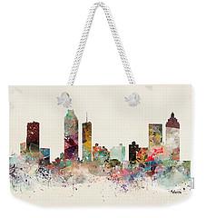 Atlanta Georgia Skyline Weekender Tote Bag