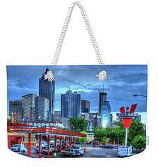 Atlanta Landmark The Varsity Art Weekender Tote Bag