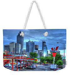 Atlanta Landmark The Varsity Art Weekender Tote Bag by Reid Callaway