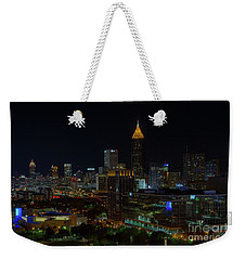 Atlanta Nights Weekender Tote Bag