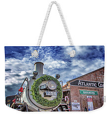 Weekender Tote Bag featuring the photograph Atlantic Coastline Christmas by Phil Mancuso