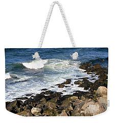 Atlantic Ocean, Rockport, Massachusetts Weekender Tote Bag