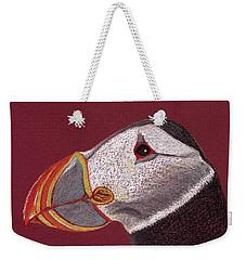 Atlantic Puffin Profile Weekender Tote Bag