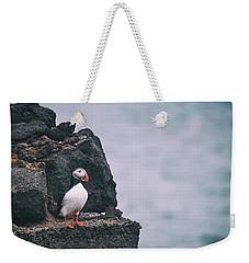 Atlantic Puffin Weekender Tote Bag
