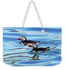 Atlantic Puffins Weekender Tote Bag