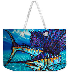 Atlantic Sailfish Weekender Tote Bag