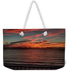 Atlantic Sunrise Weekender Tote Bag