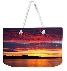 Atlantic Sunrise Weekender Tote Bag