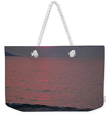 Weekender Tote Bag featuring the photograph Atlantic Sunrise by Sumoflam Photography