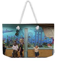 Atlantis Aquarium Towel Version Weekender Tote Bag