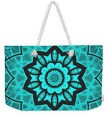 Atlantis Stained Glass Weekender Tote Bag by Roxy Riou