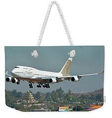Atlas Air Boeing 747-481 N322sg Phoenix Sky Harbor October 6 2017 Weekender Tote Bag