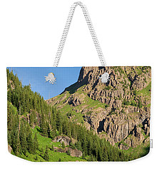 Weekender Tote Bag featuring the photograph Atlas Mine by Steve Stuller