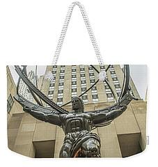 Atlas Rockefeller Center Weekender Tote Bag by Timothy Lowry