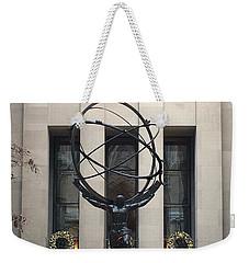 Atlas Statue Weekender Tote Bag