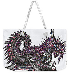 Atma Weapon Catoblepas Fusion Weekender Tote Bag by Shawn Dall