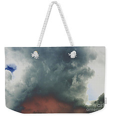 Atmospheric Combustion Weekender Tote Bag by Jesse Ciazza