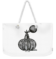 Weekender Tote Bag featuring the digital art Atomizer by ReInVintaged