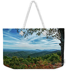 Atop The Mountain Weekender Tote Bag