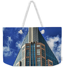 Weekender Tote Bag featuring the photograph Att Nashville by Stephen Stookey