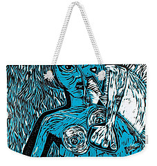 Attached Weekender Tote Bag by Thomas Valentine