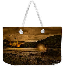 Attack At Nightfall Weekender Tote Bag by Amanda Elwell