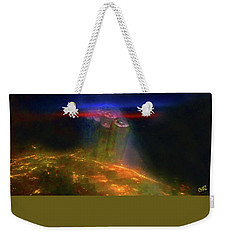 Attack Of The Aliens Weekender Tote Bag