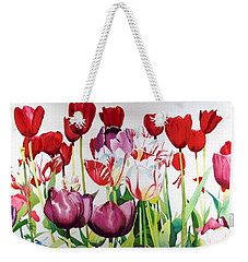 Attention Weekender Tote Bag