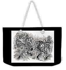 Attitude In Motion Weekender Tote Bag
