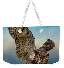 Attitude Is Everything Weekender Tote Bag by Myrna Bradshaw