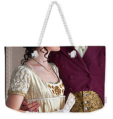 Attractive Regency Couple Weekender Tote Bag