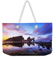 Atuh Beach Dawn Break Scene Weekender Tote Bag