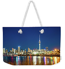 Auckland At Dusk Weekender Tote Bag