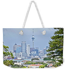 Auckland City C B D Weekender Tote Bag