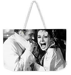 Audrey Hepburn As Holly Golightly Weekender Tote Bag