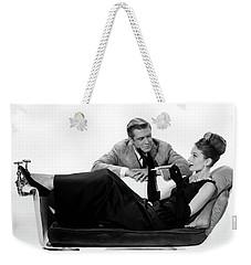 Audrey Hepburn Holly Golightly Breakfast At Tiffanys  Weekender Tote Bag