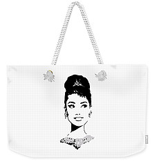 Audrey Weekender Tote Bag by Rene Flores