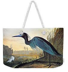 Audubon: Little Blue Heron Weekender Tote Bag by Granger