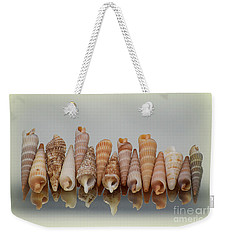 Auger Shells Weekender Tote Bag by Patti Whitten