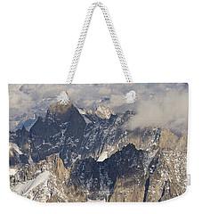 Auguille Du Midi Weekender Tote Bag