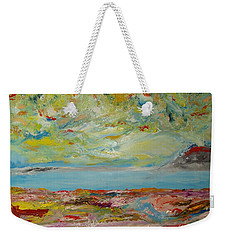 August 2017. Abstract Landscape. Weekender Tote Bag