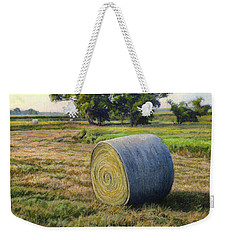 August Bale Study No.1 Weekender Tote Bag