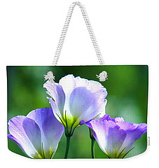 Weekender Tote Bag featuring the photograph August Echoes by Byron Varvarigos