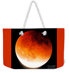 August Eclipse Tucson, Az Weekender Tote Bag