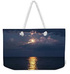 August Full Moon Weekender Tote Bag