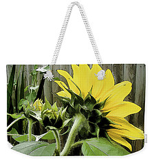Weekender Tote Bag featuring the photograph August Motif by Betsy Zimmerli