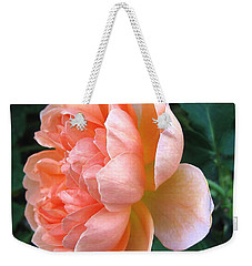 Weekender Tote Bag featuring the photograph August Rose 09 by Joyce Dickens