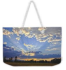 August Sunrise Weekender Tote Bag