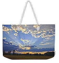 Morning's Glory Weekender Tote Bag